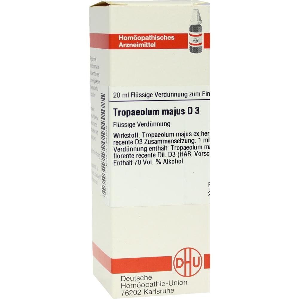 TROPAEOLUM MAJUS D 3 Dilution