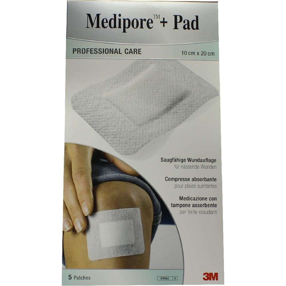07194823, Medipore + Pad 3M 10cmx20cm, 5 ST