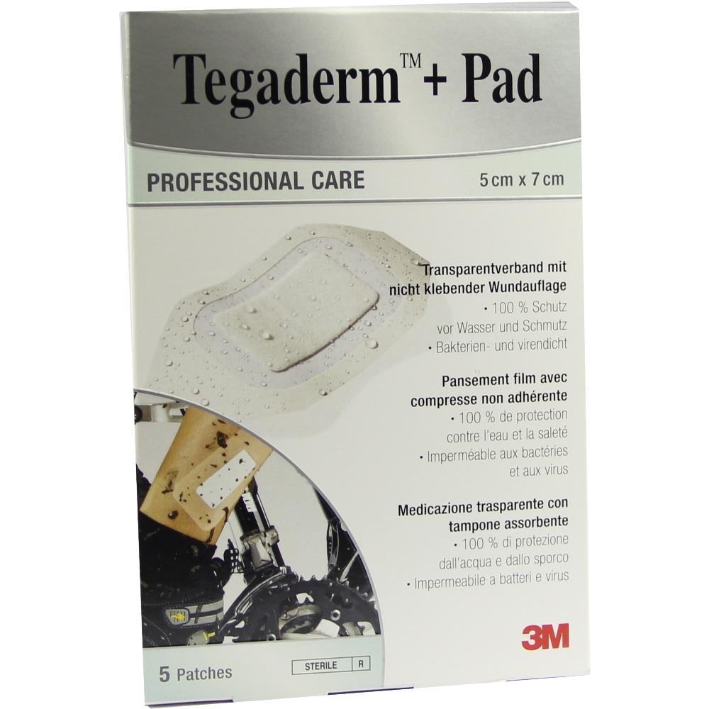 07194846, Tegaderm Plus Pad 3M 5.0cmx7.0cm, 5 ST