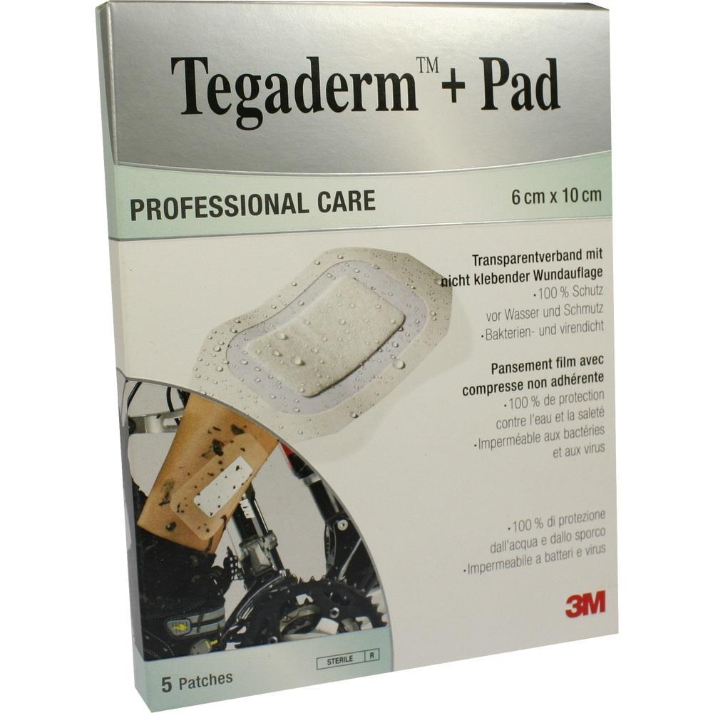 07194852, Tegaderm Plus Pad 3M 6.0cmx10.0cm, 5 ST