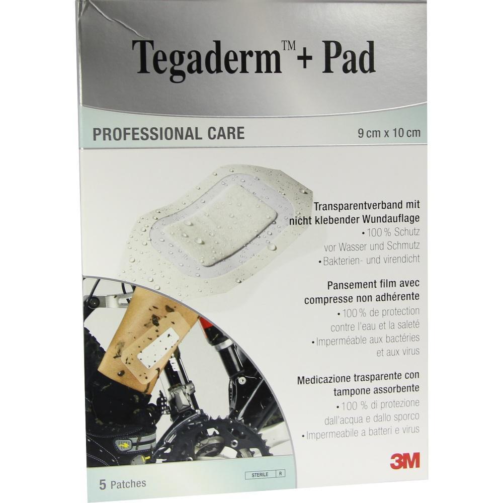 07194869, Tegaderm Plus Pad 3M 9.0cmx10.0cm, 5 ST
