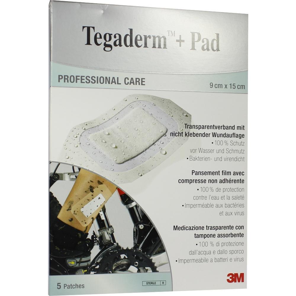 07194875, Tegaderm Plus Pad 3M 9.0cmx15.0cm, 5 ST
