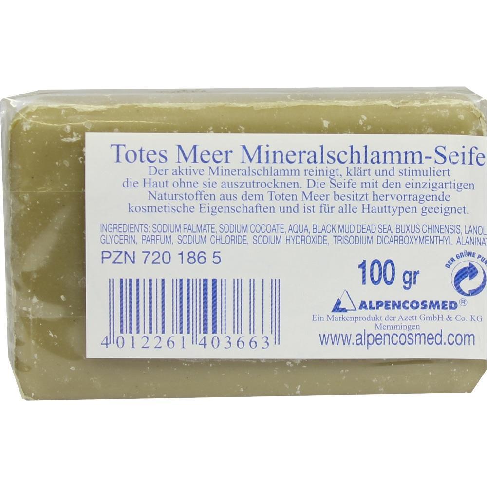 07201865, TOTES MEER SALZ MINERALSCHLAMM-SEIFE, 100 G