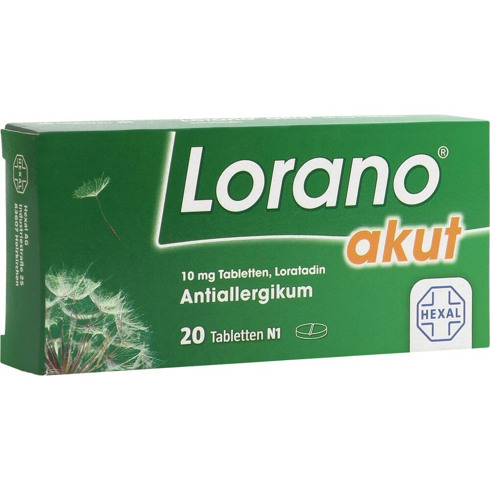 07222502, Lorano akut, 20 ST