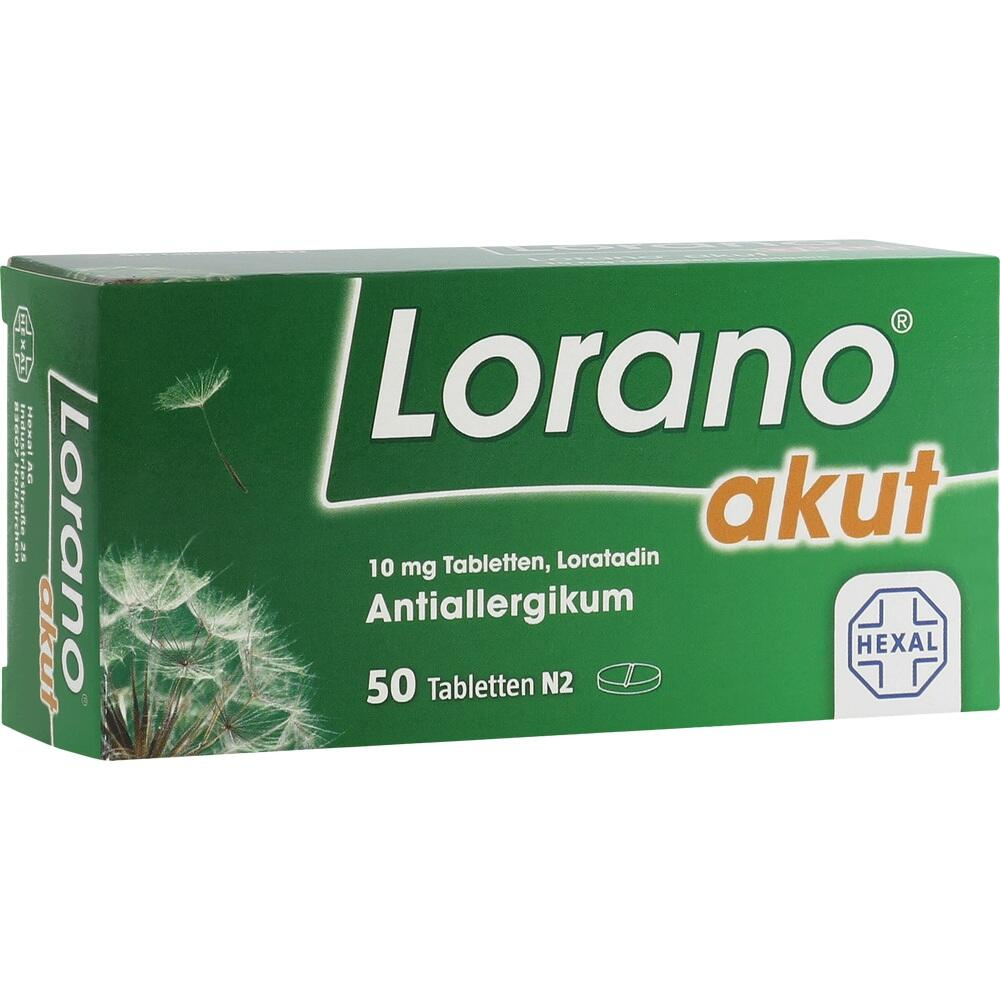 07222904, Lorano akut, 50 ST
