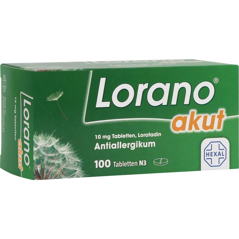 07224435, Lorano akut, 100 ST