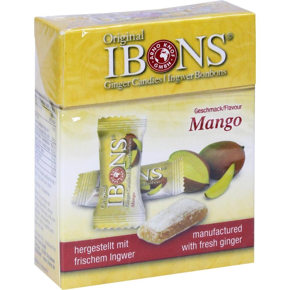 07225848, Ingwerbonbons Original Mango, 60 G