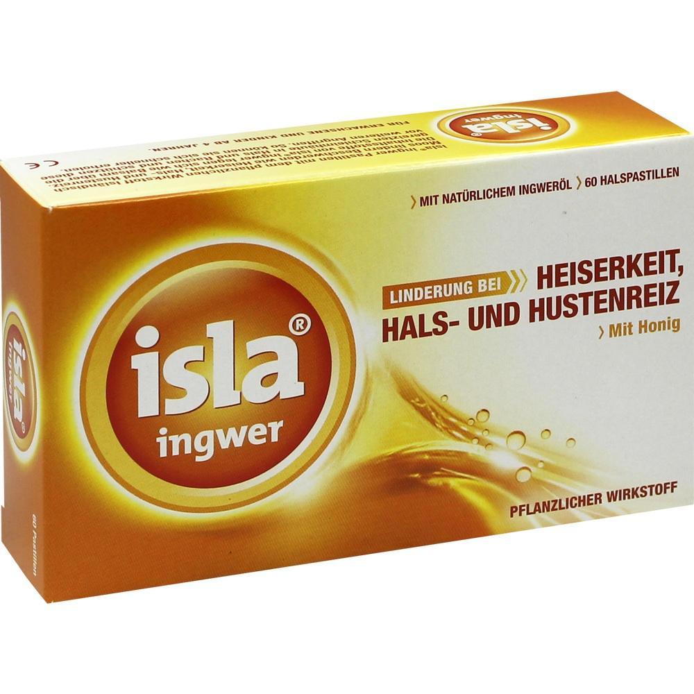 07233888, Isla-Ingwer Pastillen, 60 ST