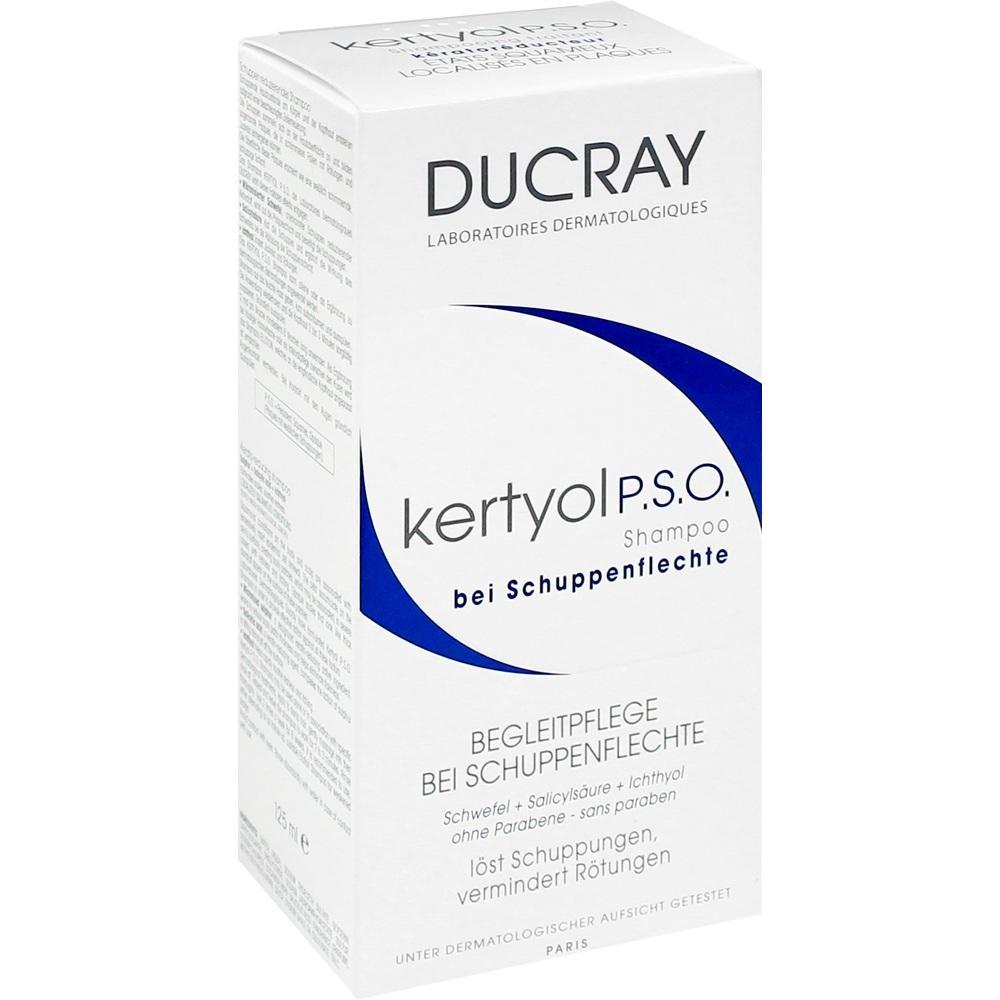 07243119, DUCRAY KERTYOL P.S.O. Shampoo bei Psoriasis, 125 ML