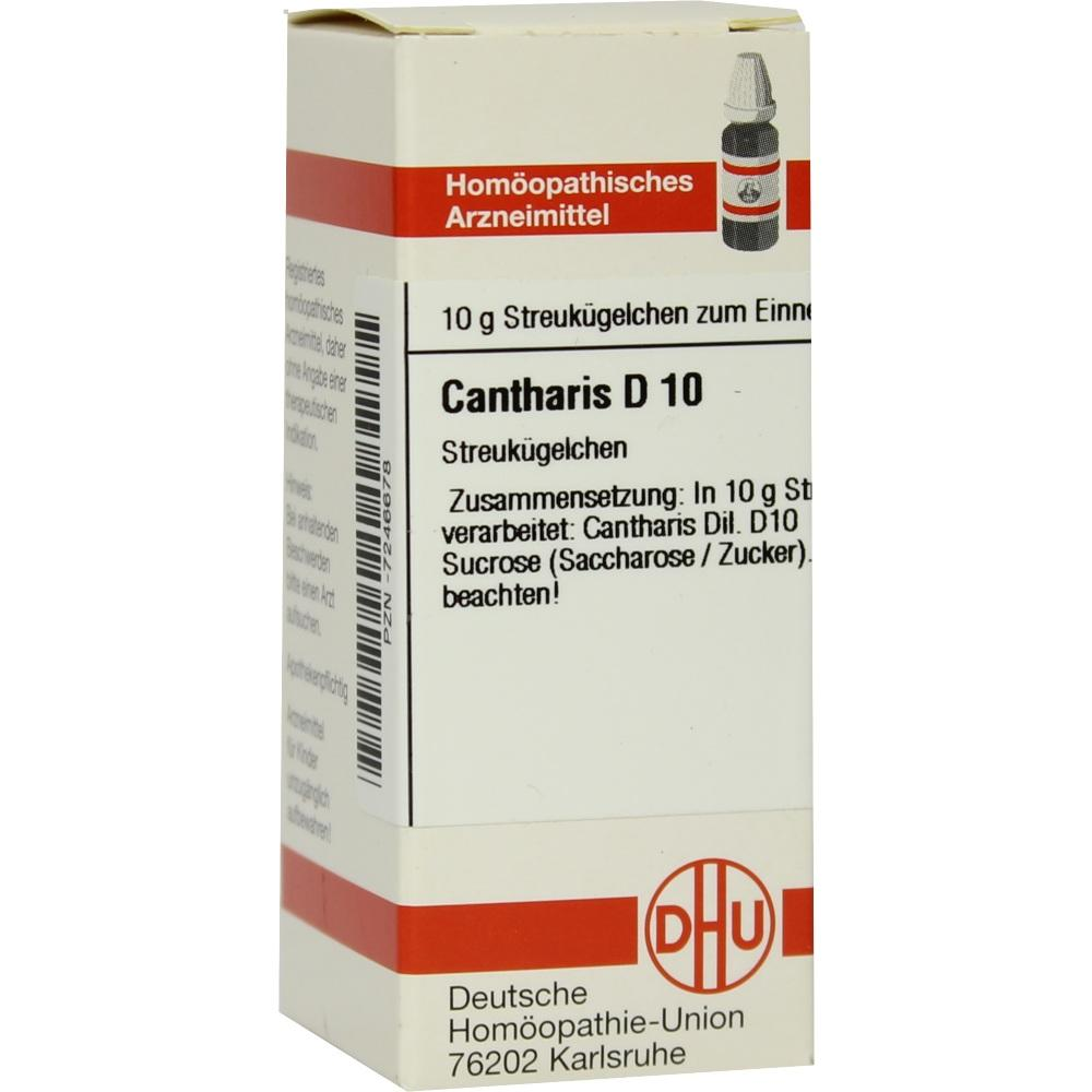 CANTHARIS D 10 Globuli
