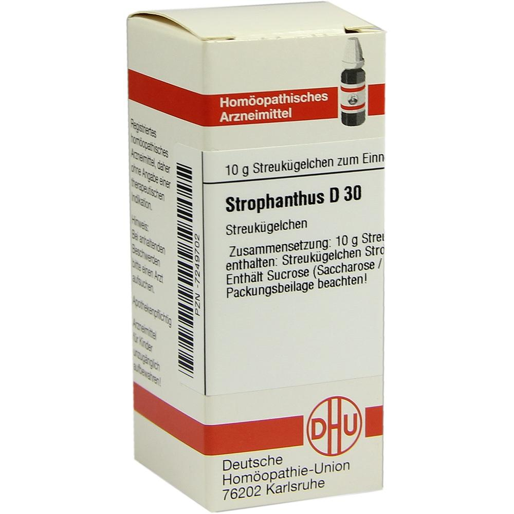 STROPHANTHUS D 30 Globuli
