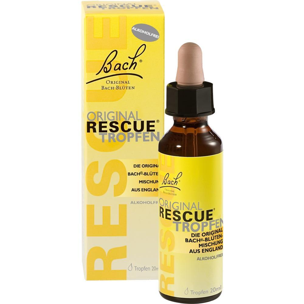 07253425, Bach Original Rescue Tropfen alkoholfrei, 20 ML