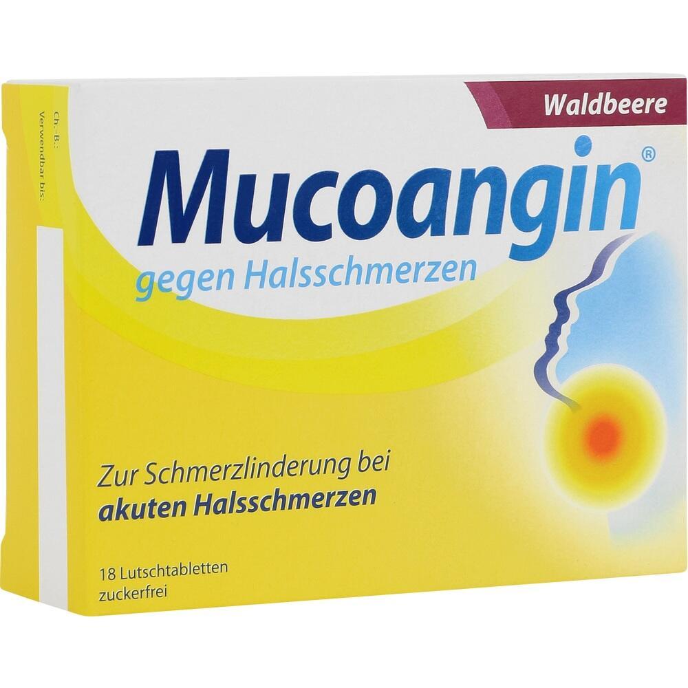 07314486, Mucoangin Waldbeere 20 mg Lutschtabletten, 18 ST