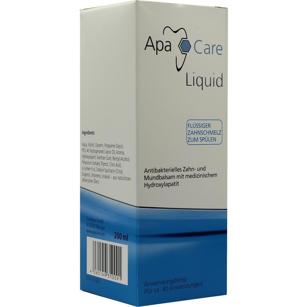 07319207, ApaCare Liquid Zahnspülung, 200 ML