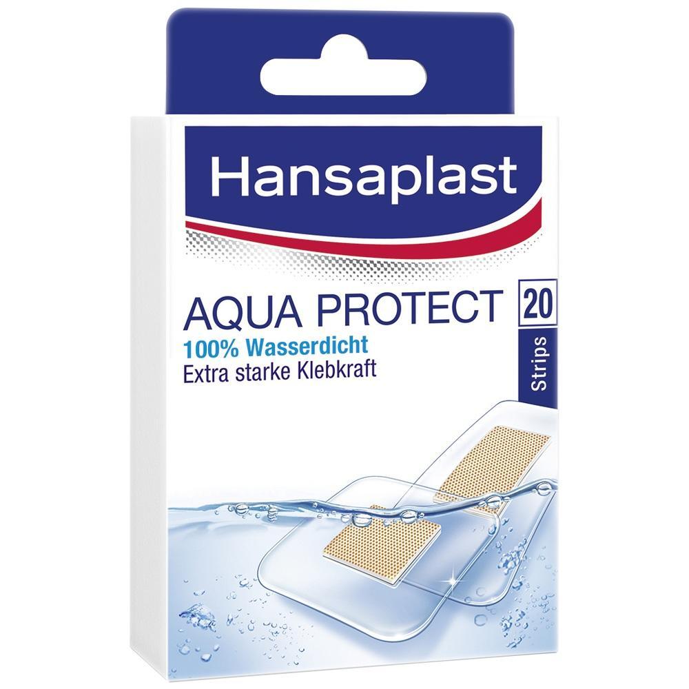 07339351, Hansaplast AQUA PROTECT Strips, 20 ST