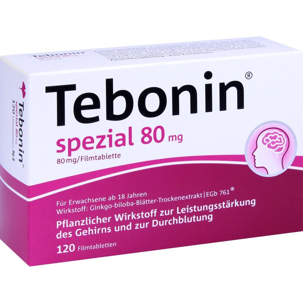 07368364, Tebonin spezial 80mg, 120 ST
