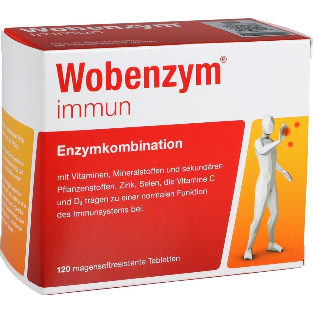 07368631, Wobenzym immun, 120 ST