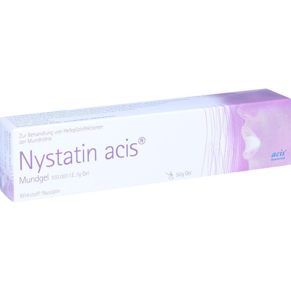 07371202, Nystatin acis Mundgel, 50 G