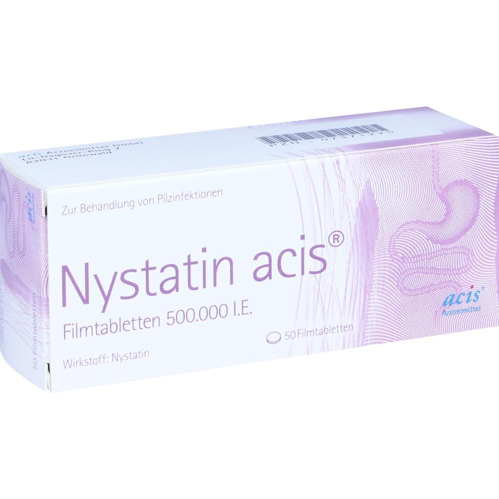 07371225, Nystatin acis Fimtabletten, 50 ST
