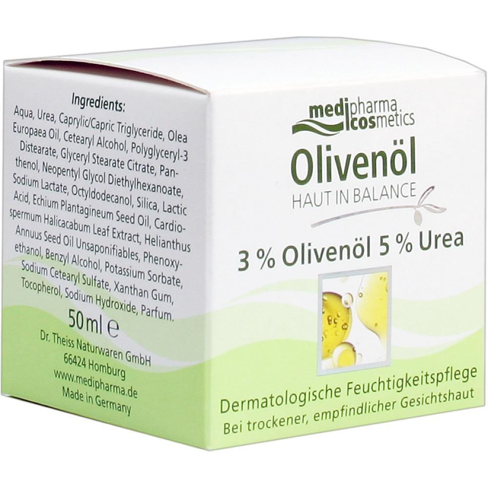 07371550, Haut in Balance Olivenöl Feuchtigkeitspflege 3%, 50 ML