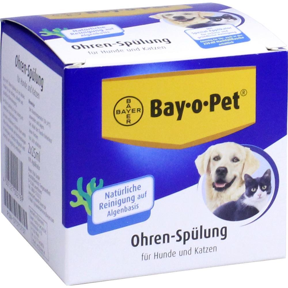 07375737, Bay-o-Pet Ohrreiniger kleiner Hund /Katze, 2X25 ML