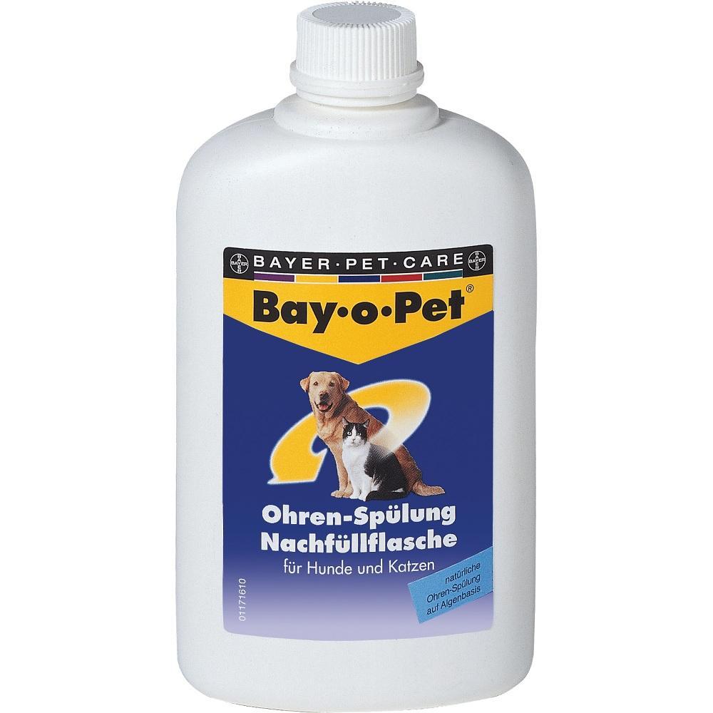 07375766, Bay-o-Pet Ohrreiniger NACHFUELLFLASCHE, 250 ML