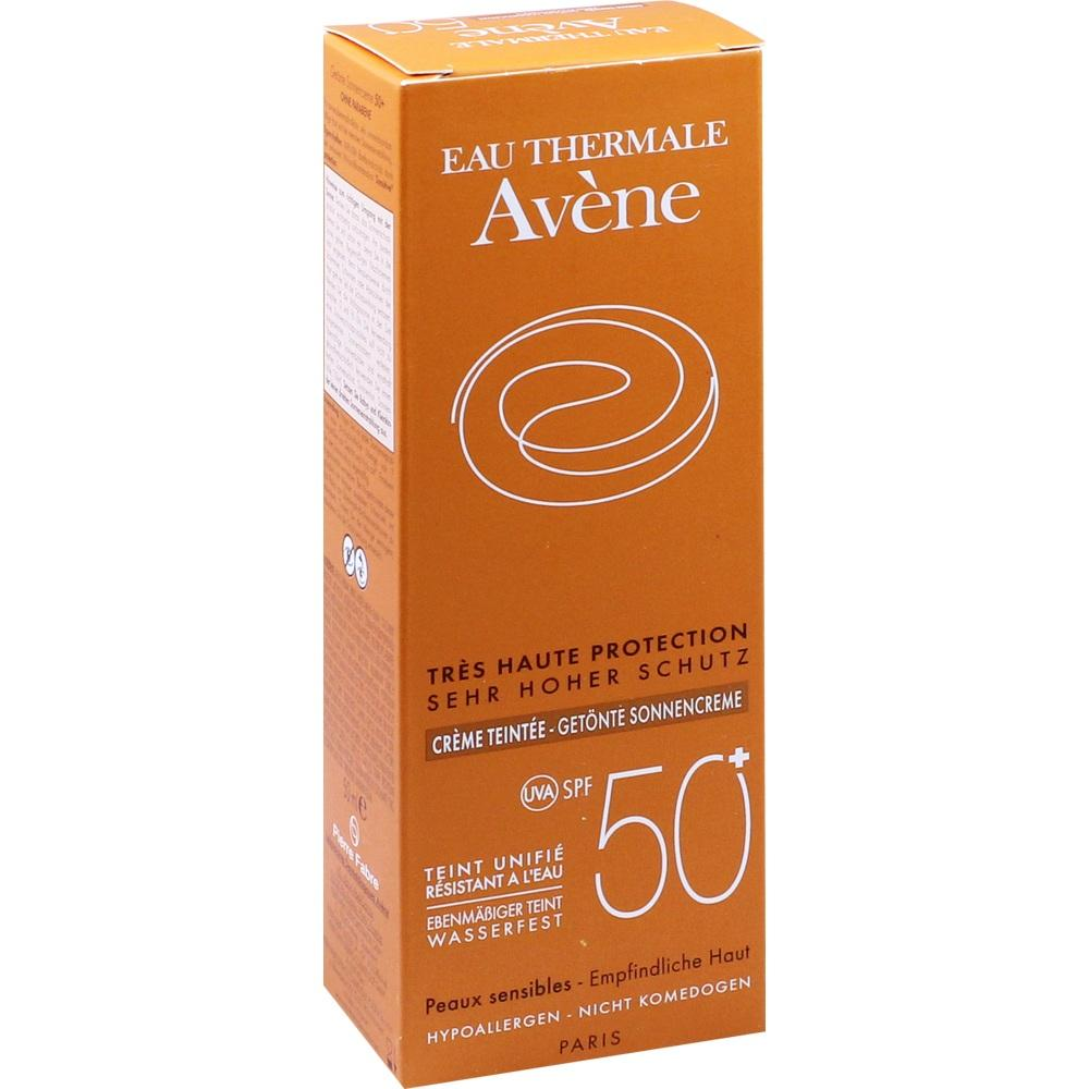 07388088, AVENE SunSitive Sonnencreme SPF 50+ getönt, 50 ML