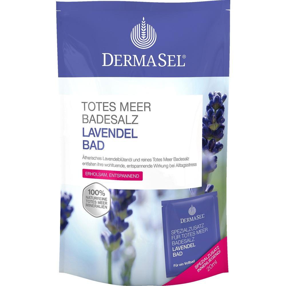 07389811, DermaSel Totes Meer Badesalz + Lavendel SPA, 1 P