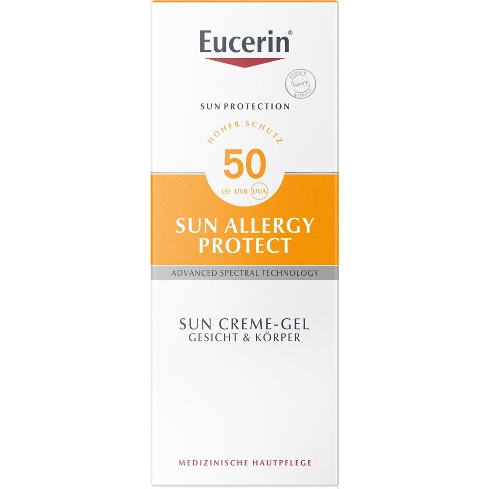 07415483, Eucerin Sun Allergie Gel 50+, 150 ML