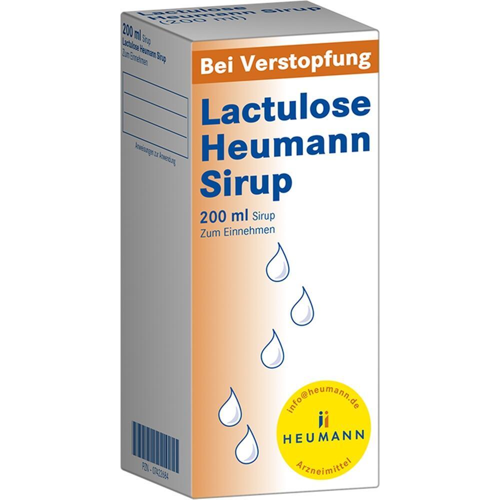 07422684, Lactulose Heumann Sirup, 200 ML