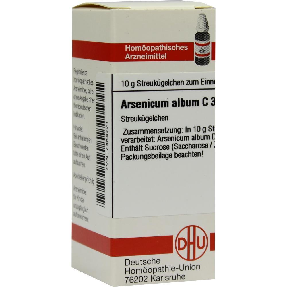 ARSENICUM ALBUM C 3 Globuli