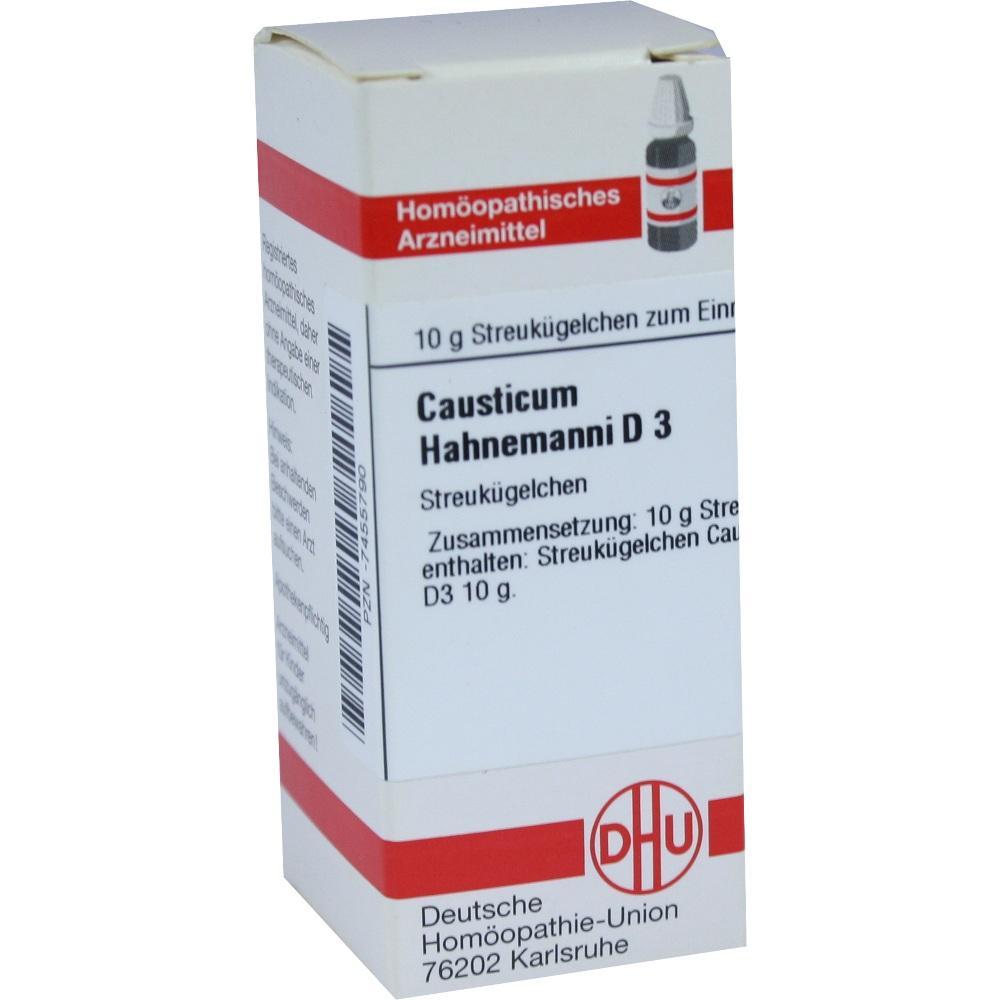 CAUSTICUM HAHNEMANNI D 3 Globuli