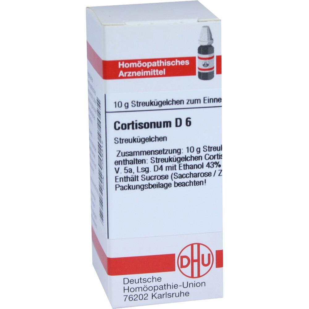CORTISONUM D 6 Globuli