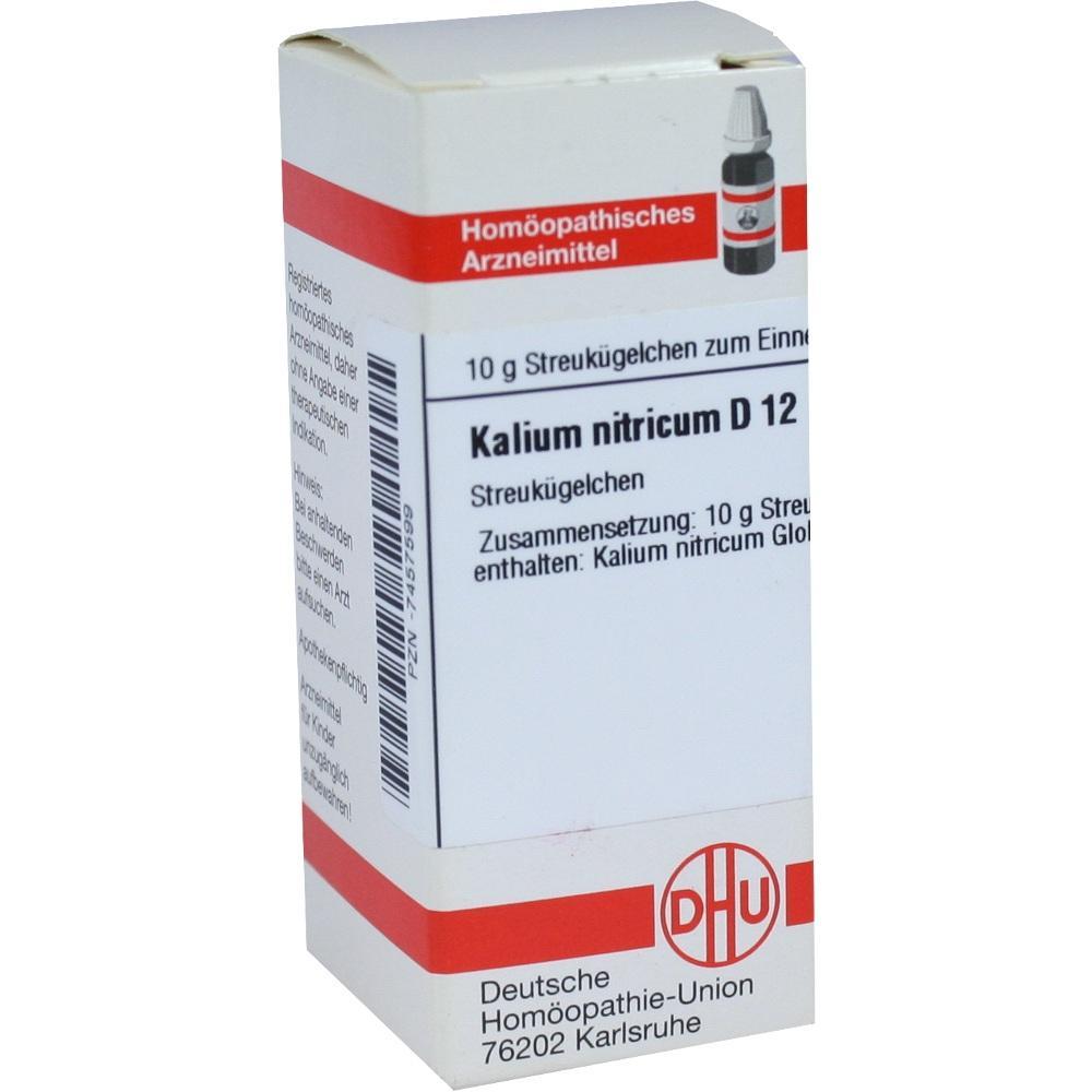 KALIUM NITRICUM D 12 Globuli