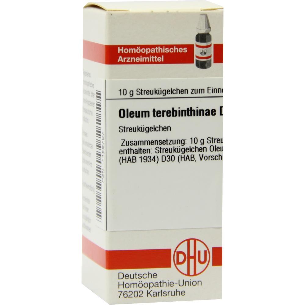 OLEUM TEREBINTHINAE D 30 Globuli