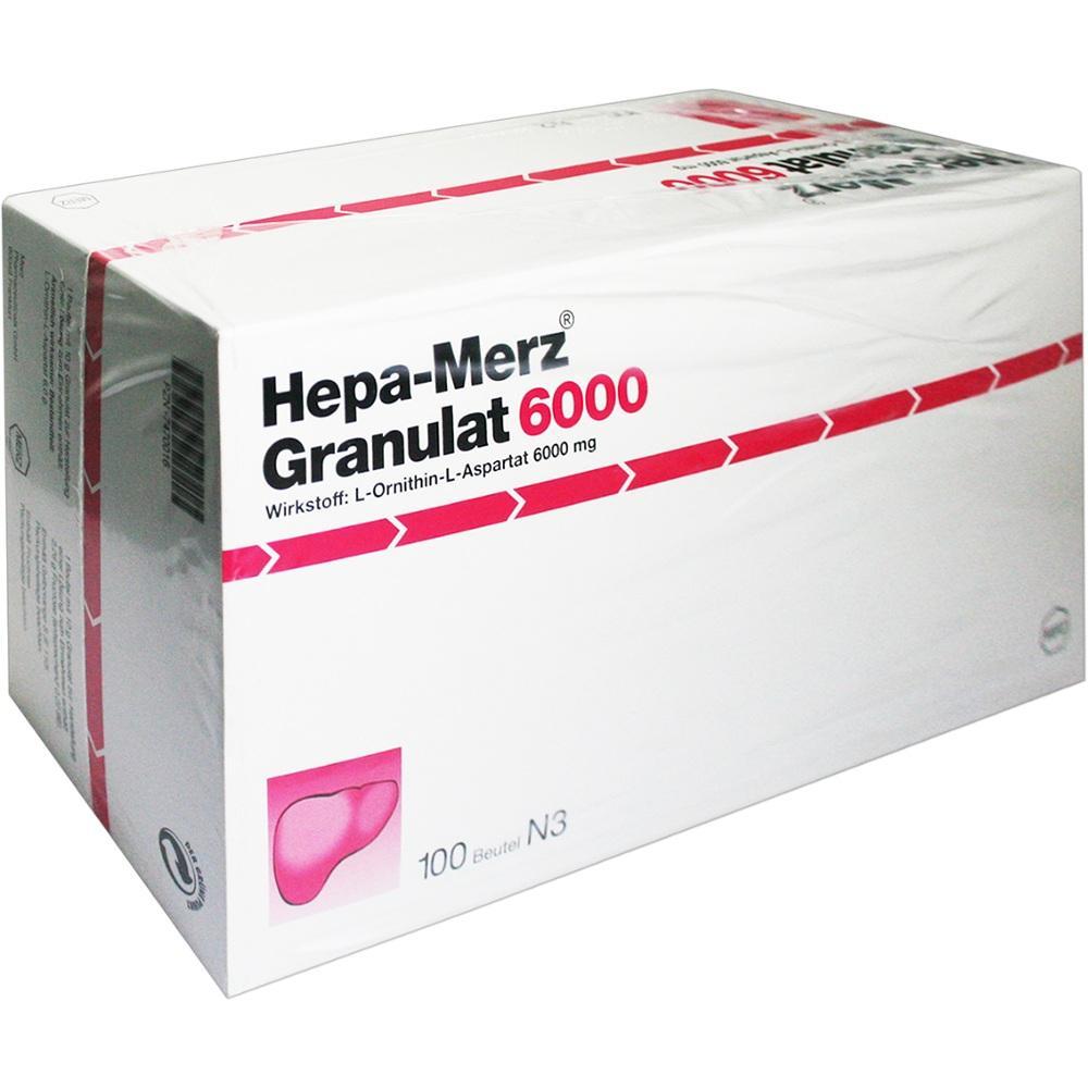 07470016, Hepa Merz Granulat 6000 BTL, 100 ST