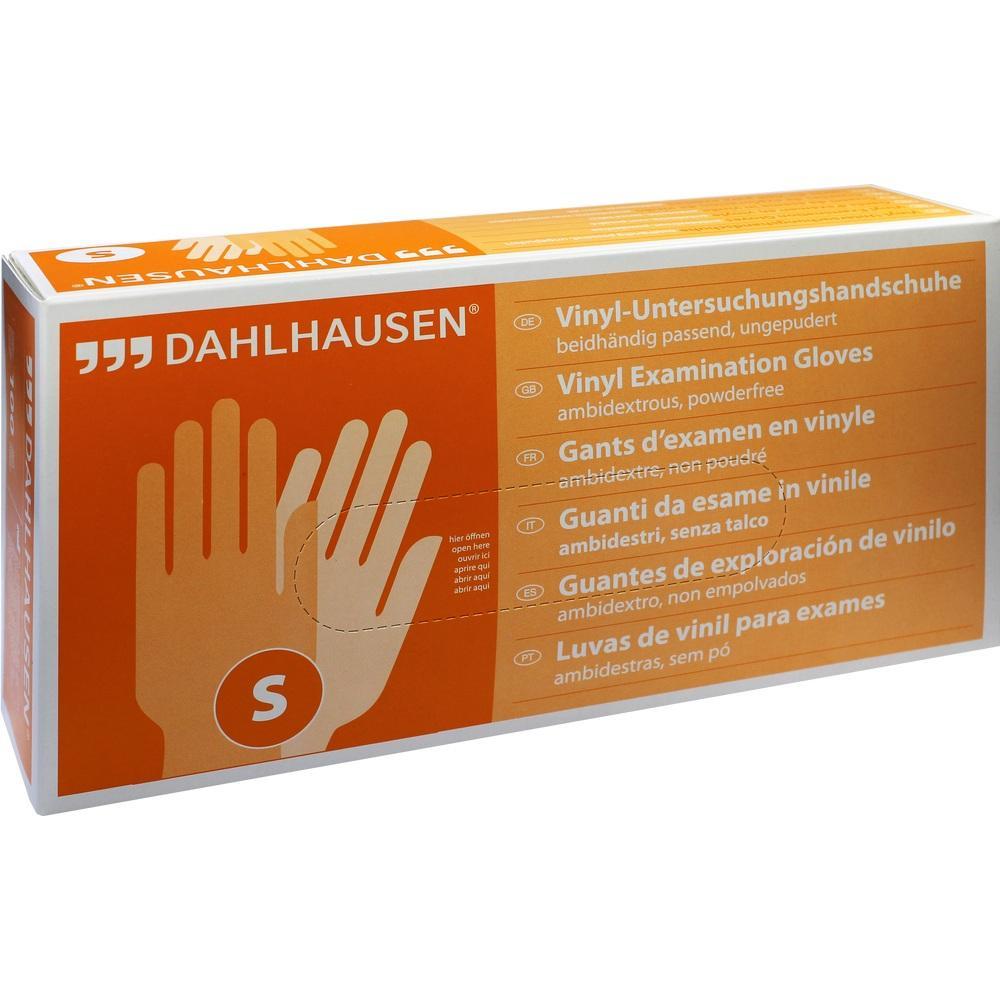 P. J. Dahlhausen & Co. GmbH VINYL Handschuhe ungepudert Gr.S 07485667
