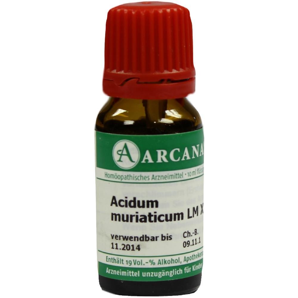 07538464, ACIDUM MURIAT LM 18, 10 ML