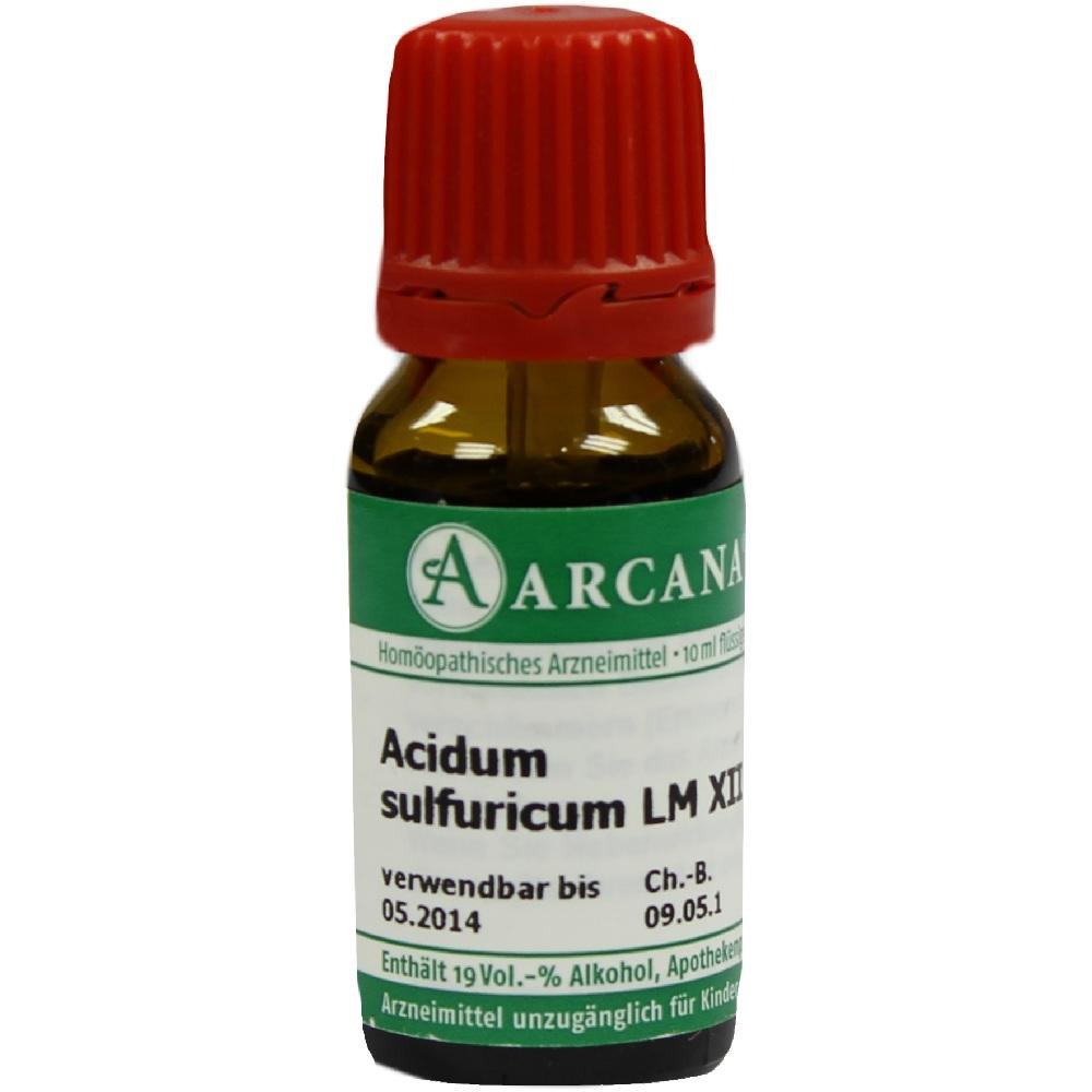 07538984, ACIDUM SULFUR LM 12, 10 ML