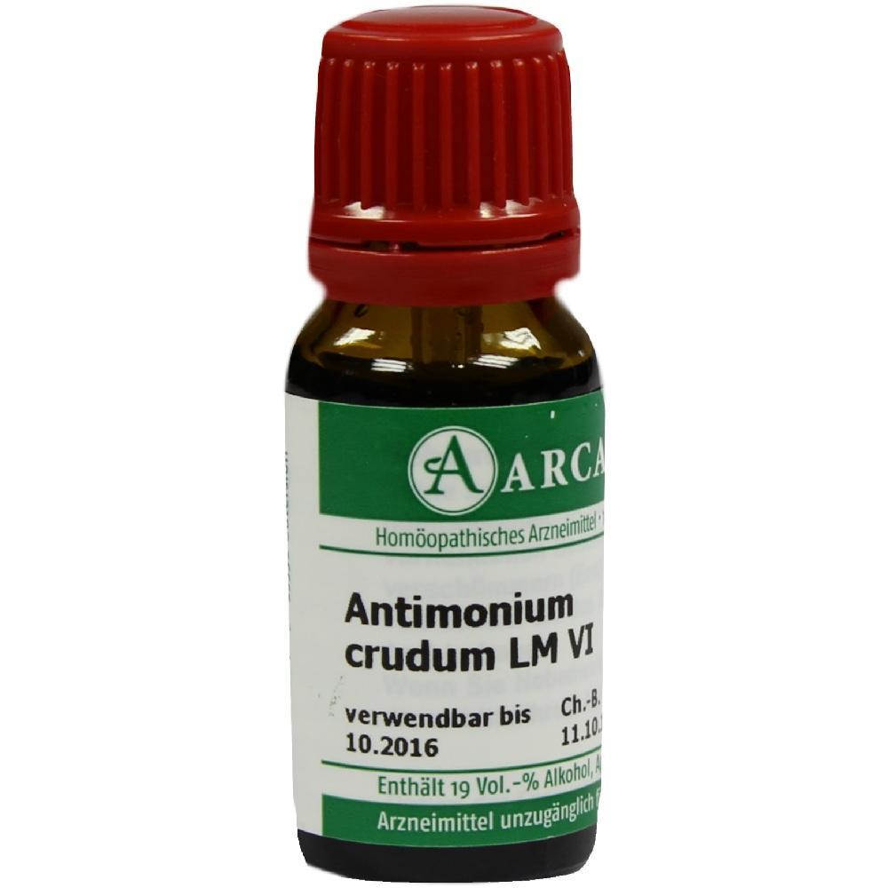 07539110, ANTIMONIUM CRUD LM 6, 10 ML