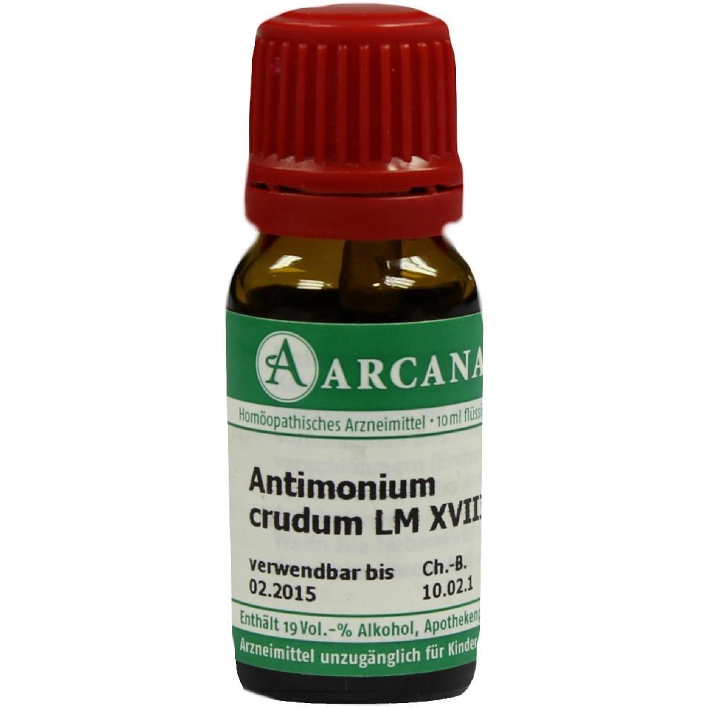 07539185, ANTIMONIUM CRUD LM 18, 10 ML