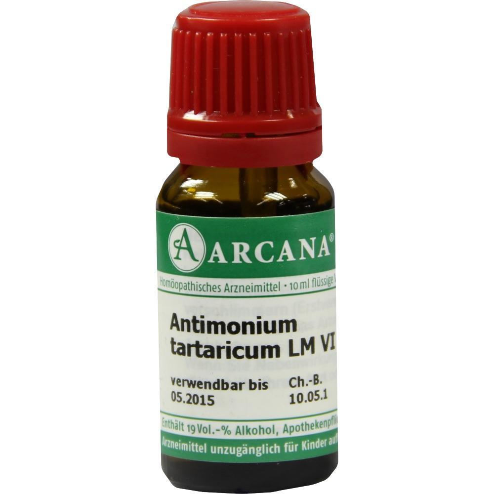 07539216, ANTIMONIUM TARTAR LM 6, 10 ML