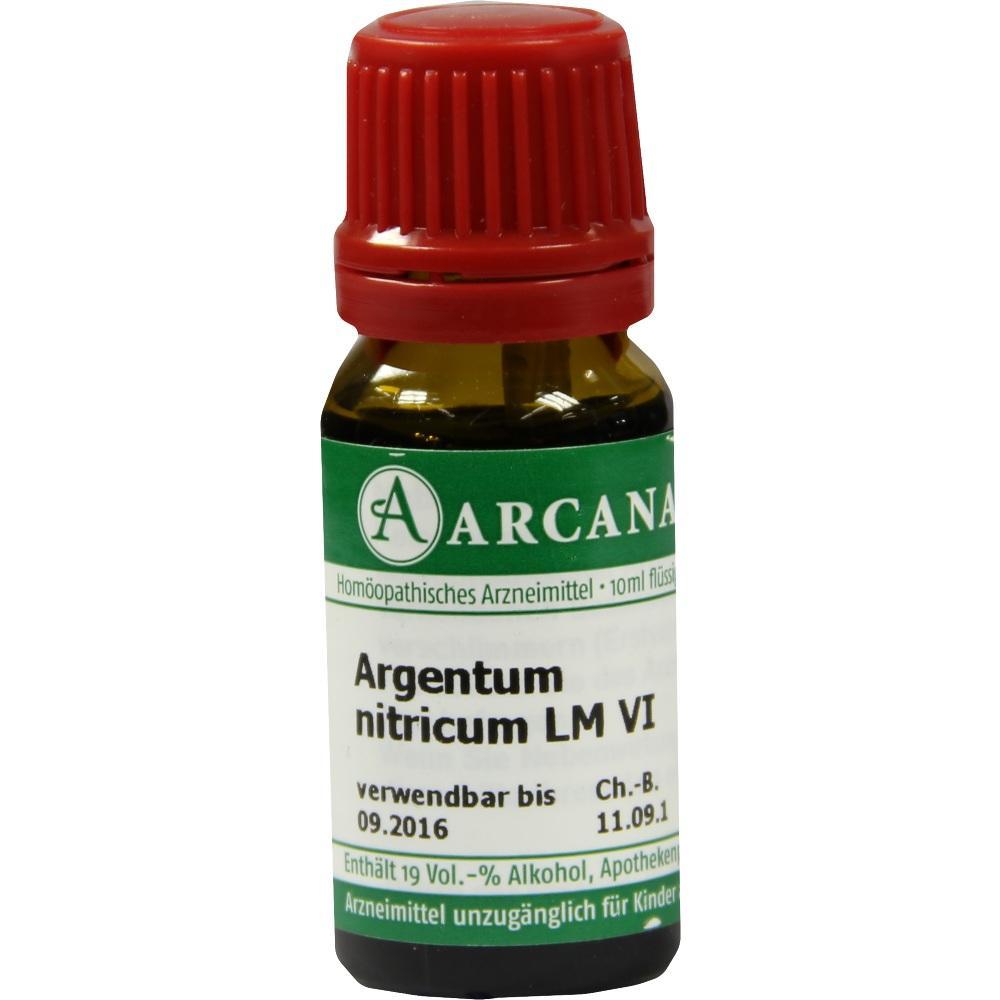 07539251, ARGENTUM NITRIC LM 6, 10 ML