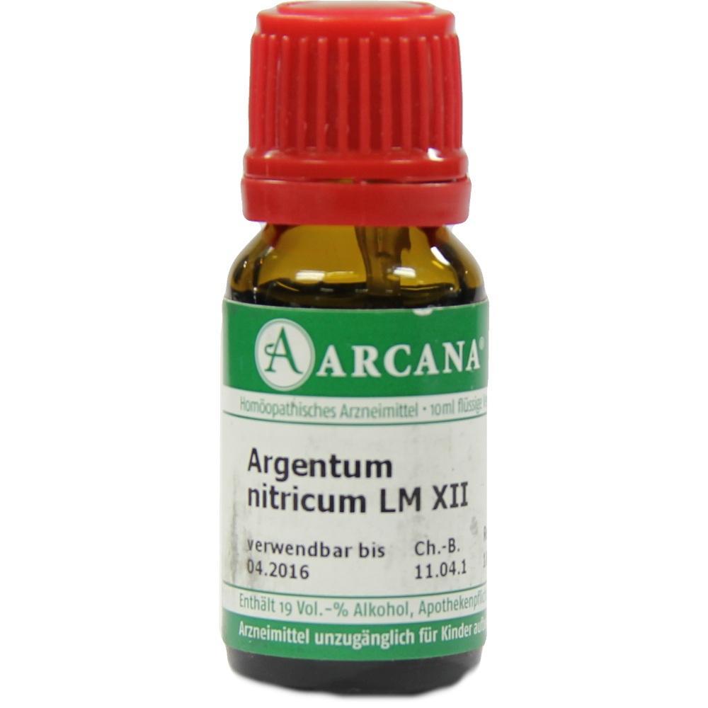ARGENTUM NITRICUM LM 12 Dilution