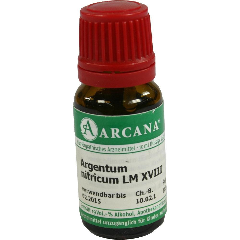 07539274, ARGENTUM NITRIC LM 18, 10 ML