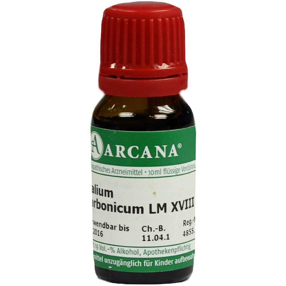 KALIUM CARBONICUM LM 18 Dilution