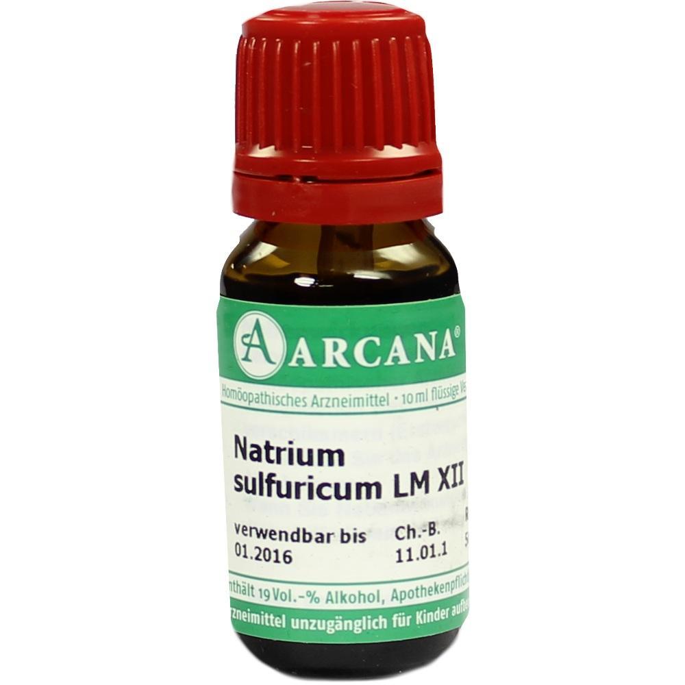 NATRIUM SULFURICUM LM 12 Dilution