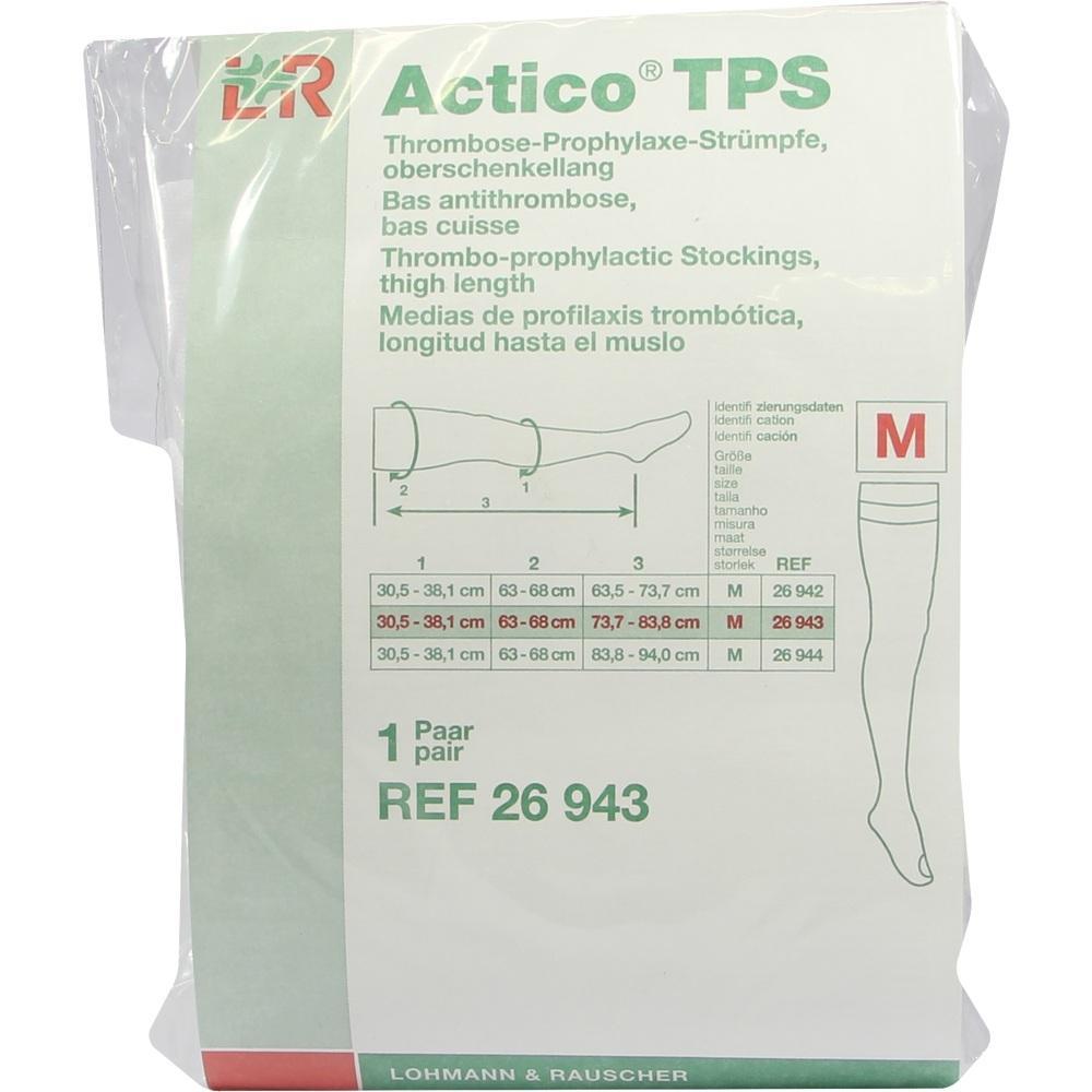 07548824, Actico TPS oberschenkellang Gr.M normal paarweise, 2 ST
