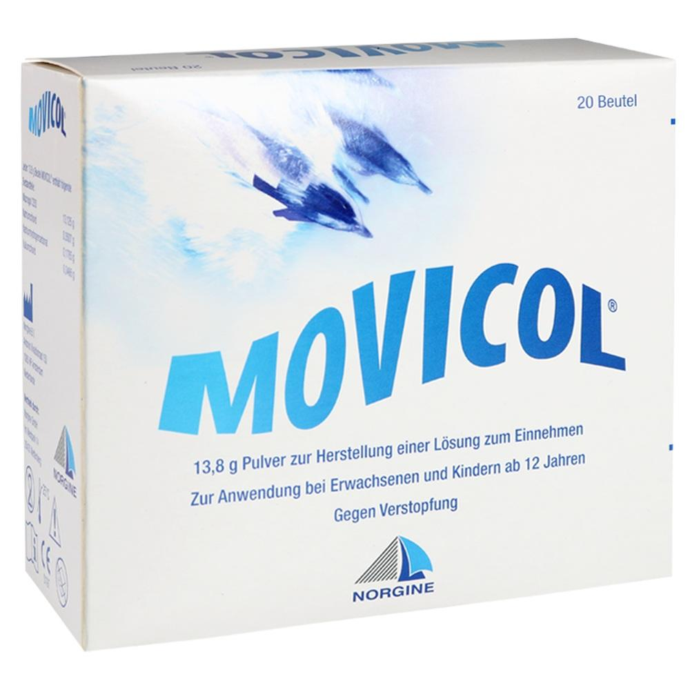 07548876, Movicol Beutel, 20 ST