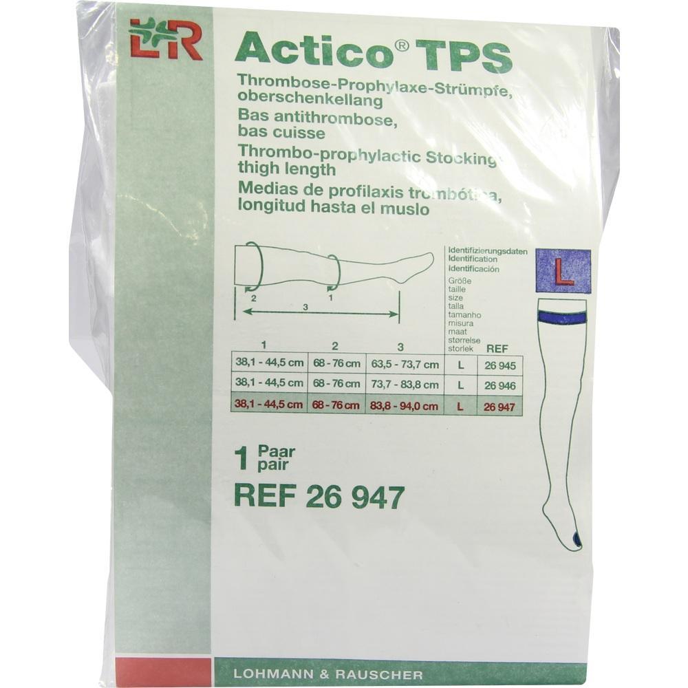 07548971, Actico TPS oberschenkellang Gr.L lang paarweise, 2 ST